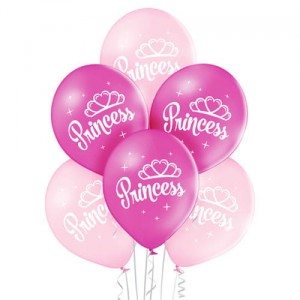 Balony PRINCESS 6szt