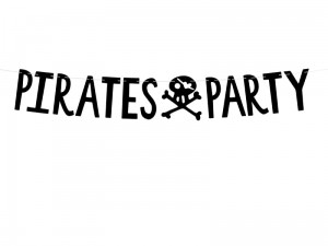 Girlanda PIRACI 14x100cm PIRATES PARTY
