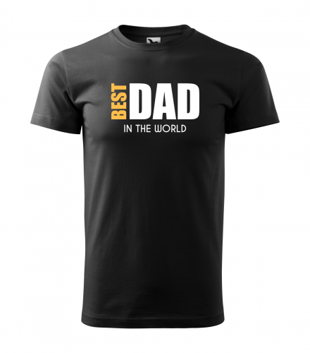 koszulka t-shirt best dad in the world
